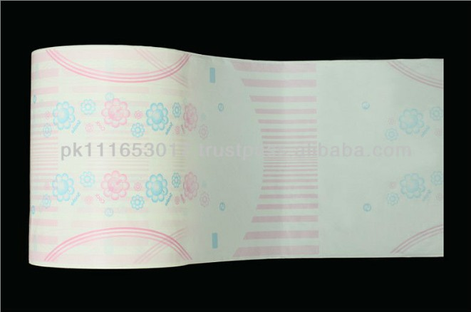 High Quality Non Breathable Printed PE Film for Sale
