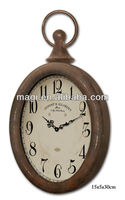 Antique Brown Metal Competitive Price Wall Clock