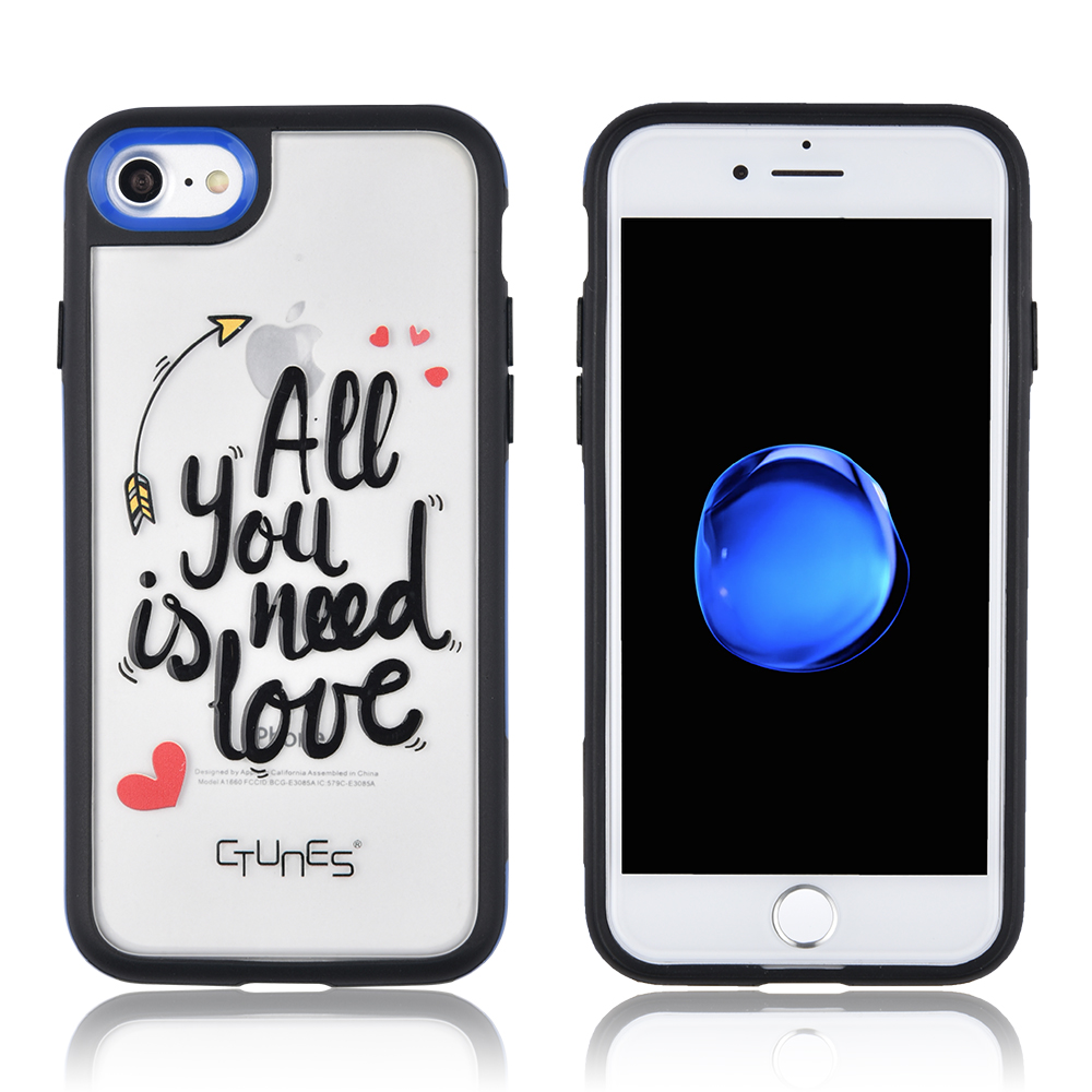 CTUNES For iphone 7 Case TPU Shockproof Bumper Interchangeable Back Plate for Iphone 7 Phone Case