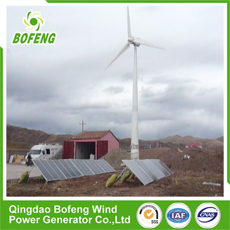 China manufacture rooftop wind turbine10kw horizontal axis wind turbine for sale
