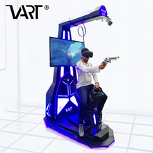 Alibaba Hot Selling Coin Operated VART Interactive Virtual Reality 360 Degree Knight Battle 9D VR Horse Rides Standing