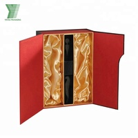 Wholesale custom luxury two sets of wine gift box
