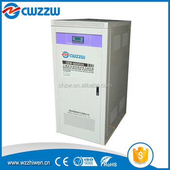 three-phase 10kva 20kva 30kva voltage stabilizer for refrigerator