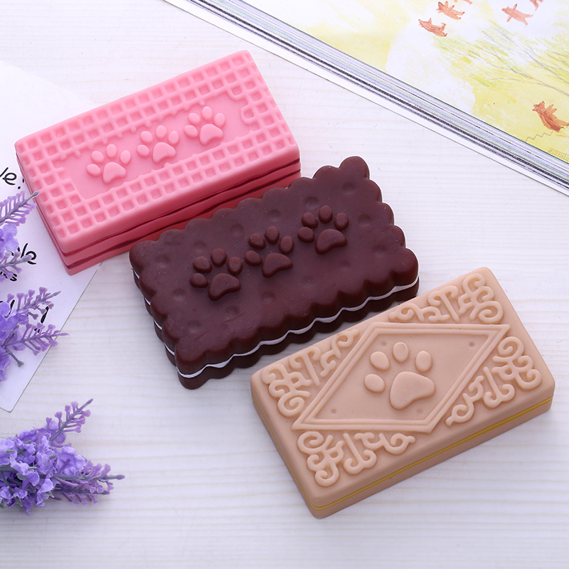 Best selling non-toxic food cookies custom soft toy, vinyl dog toy manufactory