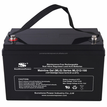 Best Quality High Performance 12V 100AH, 12V 150AH, 12V 200AH GEL Solar Battery Deep Cycle Battery for Photovoltaic system