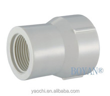 China supplier BS White female/male PVC Reducing Socket