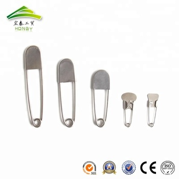 Fancy Stainless Steel IndustrialLaundry Safety Pin For Marking