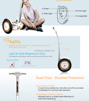 2016 airwheel S3 Off Road gravity mobility motors vehicle cheap electric scooter for adults