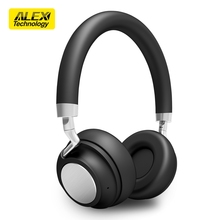 Lightweight On-Ear Headphones Hi-Fi Stereo Earphones Wired Adjustable Headset with Built-in Mic for Iphone and Android Devices