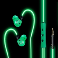 EL Visible Light Flowing Glowing Earphone