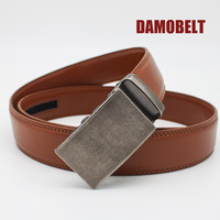 Smart Men Automatic Buckle Leather Belt