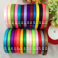 "Wholesale Top popular Cheap 10mm 3/8""inch wedding decoration Cloth tape Gift packaging 100% polyester Satin Ribbon 250yds/piece"