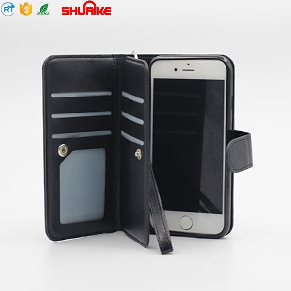 Flip Luxury Real Genuine Leather Mobile Cell Phone Cover Case For Iphone X