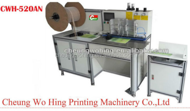 Double Loop Wire Binding Machine