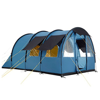 Hot sale big family glamping large camping tunnel tent for 4-5 persons