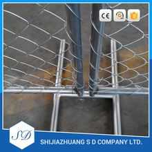stainless steel galvanized temporary fence