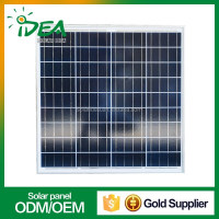 Factory price china made polycrystalline 12v 24v 36v 48v home system 150w solar panel
