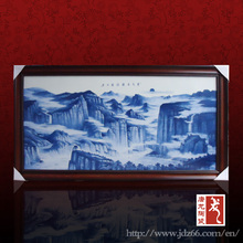jingdezhen Water landscape design the most beautiful painted painting of mountains