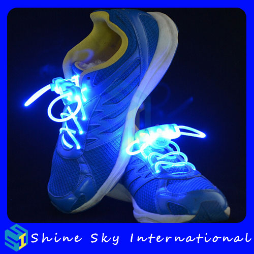 Factory original led shoelace for retailer,led shoestring super bright led strip shoelaces for sale