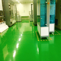 Corrosion Resistant Air Drying Epoxy Polyurethane Floor Paint