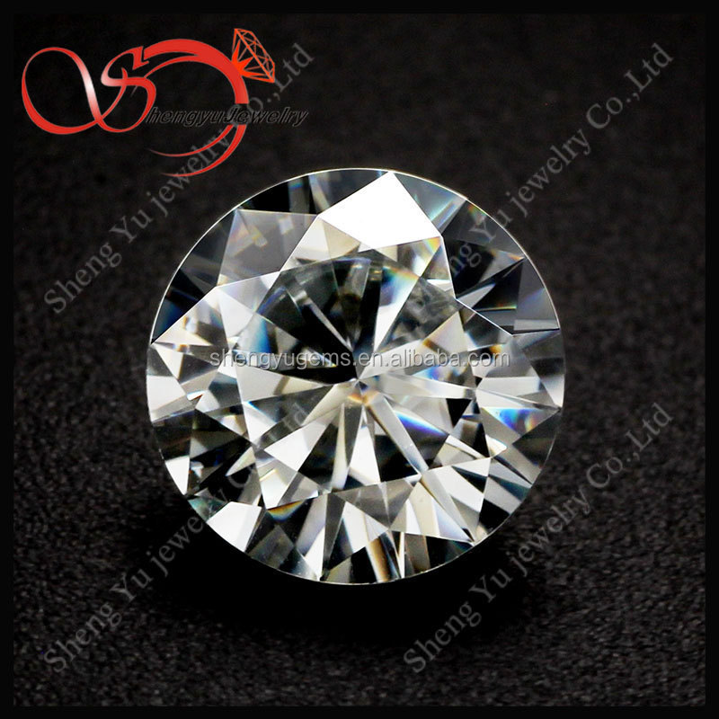Wholesale Synthetic Moissanite Diamonds For Jewelry Round Brilliant Cut 6.5mm 1.0CT Factory Price