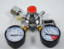 CO2 Regulator with two shut off valves for beer dispensing, European Style,Brewery equipment