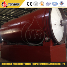 Professional waste tire to oil recycling machine