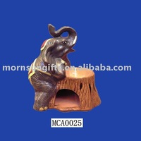 animal ceramic oil burner