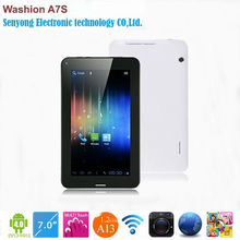 7 tablet pc a13 gsm phone call android 4.0 Dual Camera