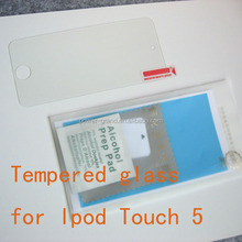 Premium 0.3mm 9H 2.5D Tempered Glass screen protector for Apple Ipod Touch 5