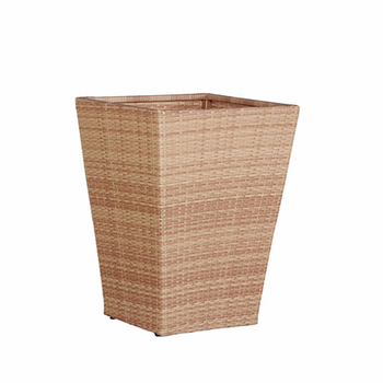 Hot sale modern wicker planters garden flower pots