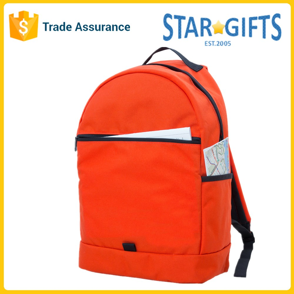 Wholesale Promotional Colorful Blank School Book Bag With Laptop Compartment