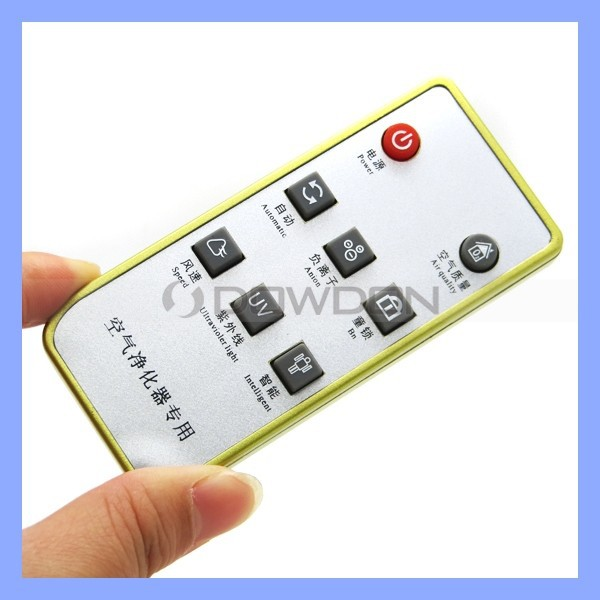 Air Purifier Remote Controller 8 Key IR Remote Switch With Custom Code Working Voltage 2.15-3.5V