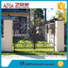 Indian latest alibaba artistic front apartment main gate designs simple new luxury outdoor decorative aluminum gate fence design