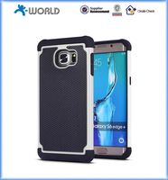 Two in one shockproof bumper case for samsung galaxy s6 edge plus
