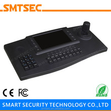 "SMTSEC SKB-N402 7 ""TFT LCD USB2.0 HDMI Output ONVIF Joystick CCTV Network IP Camera PTZ CCTV Camera Keyboard"