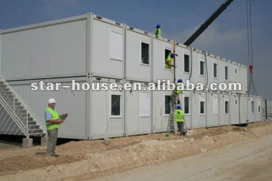 Fold up container house for labor camp(AU,CSA,UL standard)