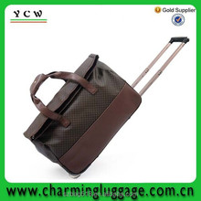 tote travel shopping trolley luggage/ trolley bag wholesale