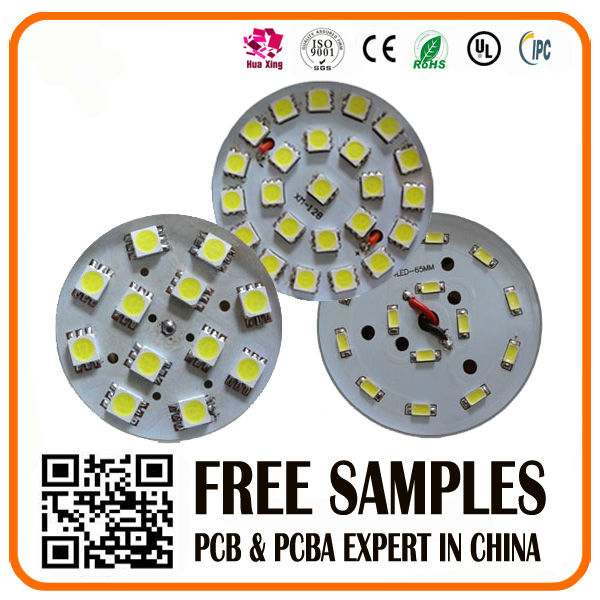 high luminous led pcb 94v-0 with high smt technology