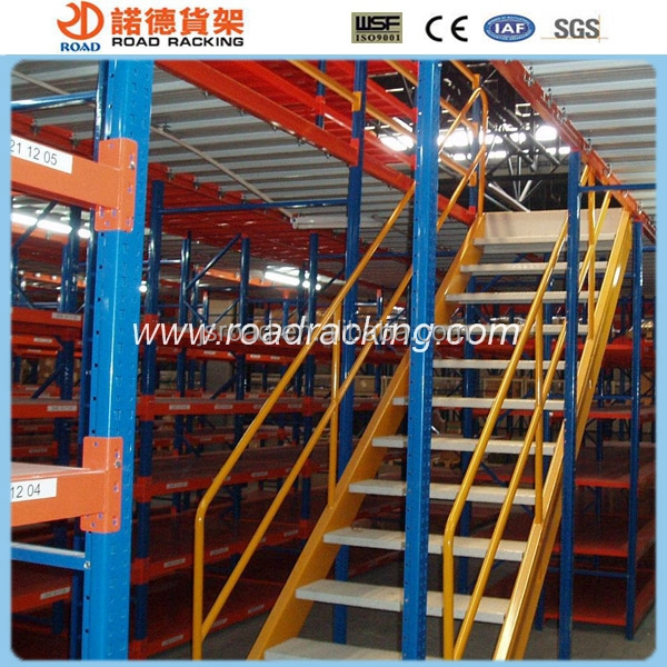 Heavy duty attic racks/mezzanine floor racking storage shelves
