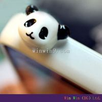 Cute Animal Cell Phone Anti Dust Plug Ear Cap For Phone