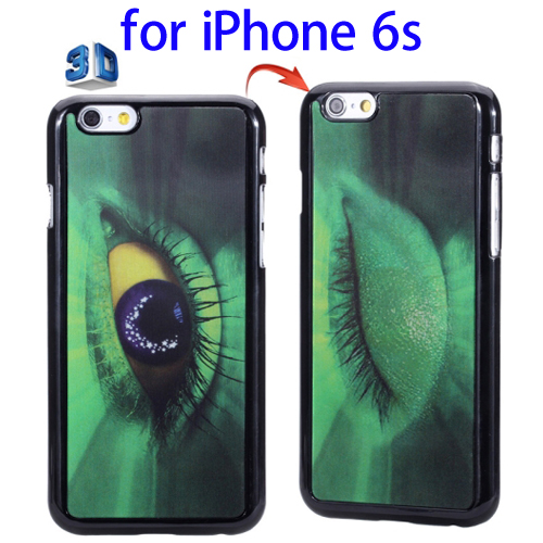 Alibaba China 3D Effect Protective Hard Phone Case for iPhone 6s