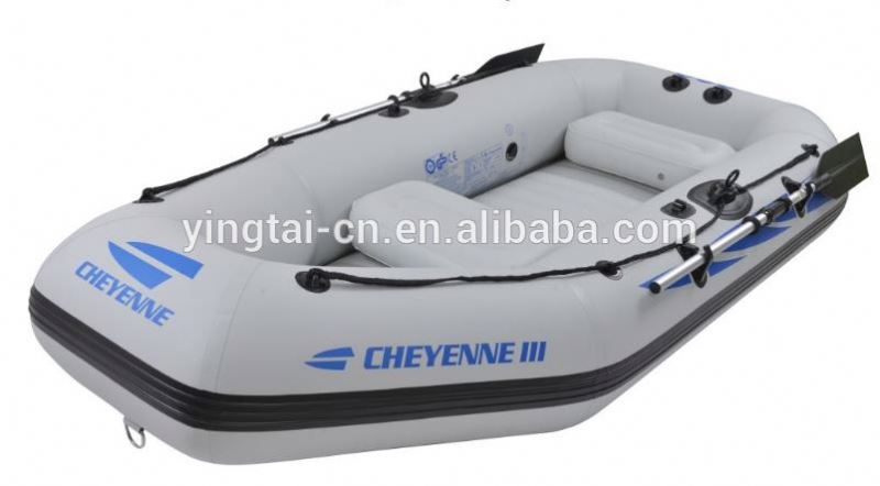 Cheyenne 300 used boats inflatable pvc rubber boat for sale