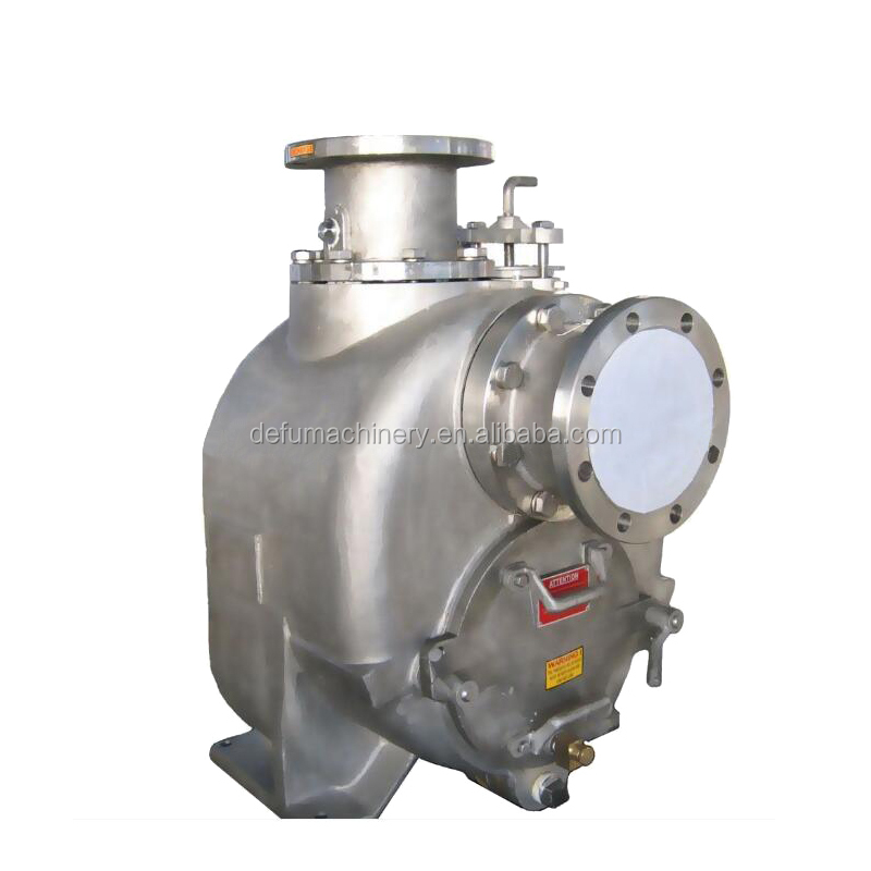 Stainless Steel Solid handing Sewage Water Pump