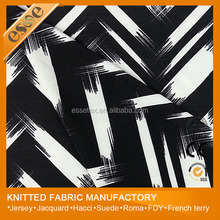 FDY 100%T(POLYESTER) PRINTED FABRIC FOR MAKING WOMEN SPORT FASHION GARMENT/CLOTHES