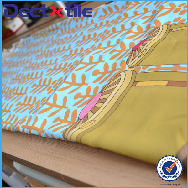 Lady chiffon scarves fabric 100% polyester fabric for scarves