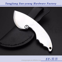 EDC multifunctional outdoor camping hunting survival blade knife