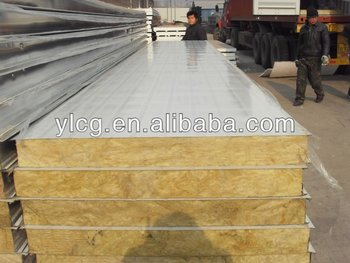980mm 960mm sandwich panel corrugated structural insulated for Structural insulated panels prices