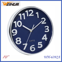 10 inch round promotion regular wall clock