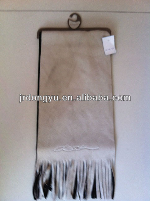 laminated winter polar fleece scarf